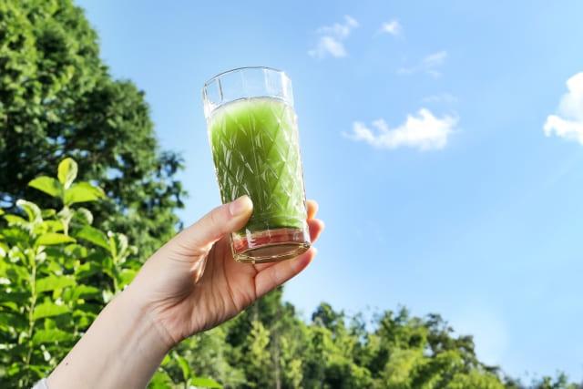 青汁、どんな効果がある? 青汁を毎日飲むことは、多くの栄養を補給できるので、さまざまな効果・効能が期待できます。 一番の効果・効能は偏った食事で不足している栄養を補い健康を維持できることです。 「健康日本21(第二次)」では、生活習慣病などを予防し、健康な生活を維持するための目標値の一つに「野菜類を1日350g以上食べましょう」と掲げられています。